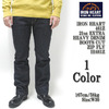 IRON HEART 461Z 21oz EXTRA HEAVY DENIM BOOTS CUT ZIP FLY IH461Z画像
