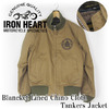 IRON HEART BLANCKET LINED CHINO CLOTH TANKERS JACKET IHJ-50画像