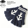 "BLACK SHEEP FINGERLESS MITT ""Anchor"" SM-08AN画像"