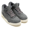NIKE AIR JORDAN 3 RETRO WOOL DARK GREY/DARK GREY-SAIL 854263-004画像
