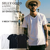 SILLY GOOD V NECK T SHIRTS S1G1-MTE02画像
