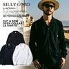SILLY GOOD CYT & SEW OPEN COLLOR LS SHIRT S1G1-MTCS04画像