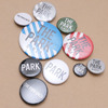THE PARK・ING GINZA BADGE SET MULTI画像