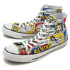 CONVERSE ALL STAR 100 AMERICANCOMIC HI MULTI 32960570画像
