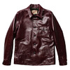Y'2 LEATHER ANILINE HORSE SHIRT JKT (CAR COAT) LS-16画像