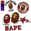 A BATHING APE COLOR CAMO A BATHING APE STICKER SET 1D30-182-018画像