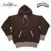 Two Moon Double V gusset Loop Wheel Body Freedom Sleeve Pullover Hooded Sweat Shirts 25307画像