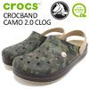 crocs CROCBAND CAMO 2.0 CLOG 204091画像