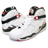 "NIKE AIR JORDAN VIII RETRO ""ALTERNATE"" ""MICHAEL JORDAN"" ""LIMITED EDITION for JORDAN BRAND"" WHT/BLK/RED 305381-104画像"