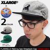 X-LARGE × Ebbets Field Flannels Walking Ape Strapback Cap M17A9108画像