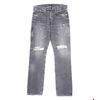 DENIM BY VANQUISH & FRAGMENT gray regular straight denim pants VFP2052画像