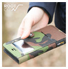 ROOT CO. GRAVITY Military Edition Shock Resist Diary Case. /Window Flip/iPhone 7 10-4321画像