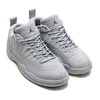 NIKE AIR JORDAN 12 RETRO LOW WOLF GREY/ARMORY NAVY-ELECTROLIME 308317-002画像
