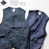 POST OVERALLS #1512 ROYAL TRAVELER 3oz denim/cotton print P1512-17画像