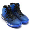 NIKE AIR JORDAN XXXI BLACK/GAME ROYAL-WHITE 845037-007画像