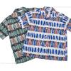 STAR OF HOLLYWOOD 半袖オープンシャツ FISH STRIPES SH37597画像