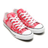 CONVERSE ALL STAR 100 BANDANA OX RED 32862082画像