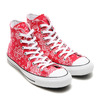 CONVERSE ALL STAR 100 BANDANA HI RED 32960842画像