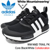 adidas Originals × White Mountaineering WM NMD TRAIL PK Core Black/White BA7518画像
