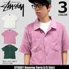 STUSSY Reverse Terry S/S Shirt 114991画像
