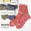RoToTo LOW GAUGE SLUB SOCKS R1054画像