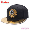 MISHKA KEEP WATCH MIRROR VISOR SNAPBACK MSS173217画像