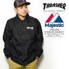 THRASHER × Majestic NYLON COACH JACKET THMJ-NCJ-01画像