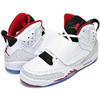 NIKE JORDAN SON OF MARS BG wht/gym red-blk 512246-112画像
