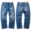 FUCT SSDD DAMAGED DENIM 48702画像