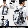 NIKE Hayward Futura 2.0 Print Backpack BA5273画像