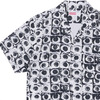 Supreme × COMME des GARCONS SHIRT Eyes Rayon Shirt WHITE画像