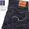 ONI DENIM Semi Tight Straight 16.5oz Selvedged Denim 「Washi Embroidery」 ONI-585XX画像