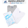 Russell Athletic 2 piece Pack Tee -White×Gray-画像