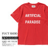 NEIGHBORHOOD × FUCT SSDD NHFU-4 / C-TEE . SS -RED- 162PCFUN-ST04SR画像