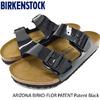 BIRKENSTOCK ARIZONA BIRKO-FLOR PATENT Patent Black GC1005291画像