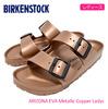 BIRKENSTOCK ARIZONA EVA Metallic Copper Ladys GE1001500画像