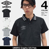 UMBRO Graphic S/S Polo UCS7758画像