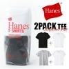 Hanes Japan Fit クルーネックTシャツ 2パック H5120画像