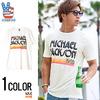 JUNK FOOD マイケルジャクソンプリントデザインクルーネック半袖Tシャツ MJ006-7765画像