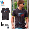 JUNK FOOD マイケルジャクソンフォトプリントデザインクルーネック半袖Tシャツ MJ049-7764画像