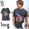 JUNK FOOD マイケルジャクソンフォトプリントデザインクルーネック半袖Tシャツ MJ015-7765画像