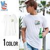 JUNK FOOD スヌーピープリントデザインクルーネック半袖Tシャツ P1442-7765画像