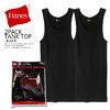 Hanes 2PACK TANK TOP BLACK HM2-K701画像