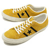 CONVERSE STAR & BARS SUEDE GOLD / BLACK 32350409/1CK883画像