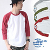 GOOD ON 2 TONE BASEBALL TEE GOLT1706画像
