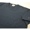 Two Moon Short Sleeve Crew Neck Tee Shirts with Chest Pocket 29115画像