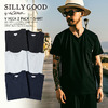 SILLY GOOD V NECK 2PACK T-SHIRT S1G3-PTE02画像