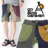 go slow caravan ストレッチ 脇ポケ SHORTS 360225画像