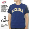 "CHESWICK S/S HENLEY T-SHIRT ""MICHIGAN"" PRINTED CH77657H画像"