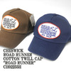 "CHESWICK ROAD RUNNER COTTON TWILL CAP ""ROAD RUNNER"" CH02255H画像"